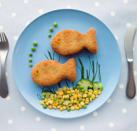 """Illustrasjonsbilde for """"Triksene som får barna til å spise fisk"""""""