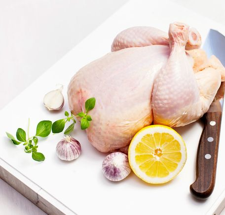 """Illustrasjonsbilde for """"Oppdeling av kylling"""""""