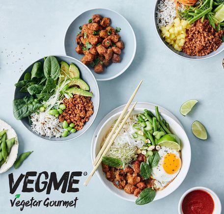 """Illustrasjonsbilde for """"VegMe - fersk vegetar med fantastisk smak"""""""