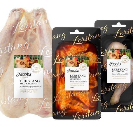 """Illustrasjonsbilde for """"Produkter av Jacobs Utvalgte Lerstang kylling"""""""