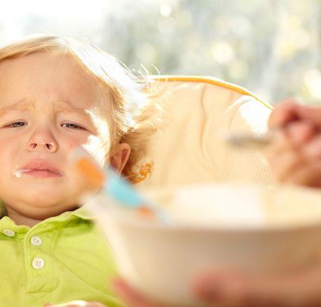 """Illustrasjonsbilde for """"Barn som ikke vil spise"""""""