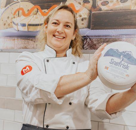 Slik bruker du Kvitlin ost fra Tine Ørstad