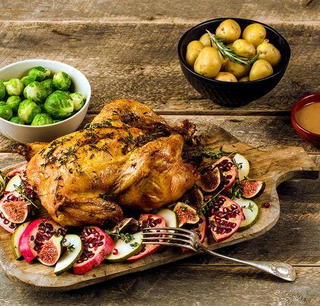"""Illustrasjonsbilde for """"Julekylling - kylling med smak av jul"""""""