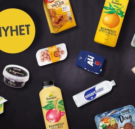 """Illustrasjonsbilde for """"Vårens produktnyheter i MENY"""""""