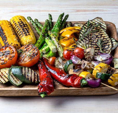 """Illustrasjonsbilde for """"Grønnsaker på grillen"""""""