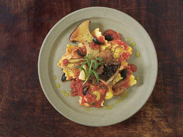 ravioli med sopp