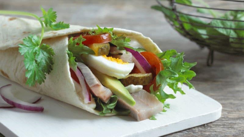 Wraps med norsk matjessild