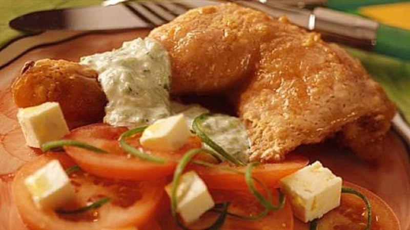 Kylling tzatsiki