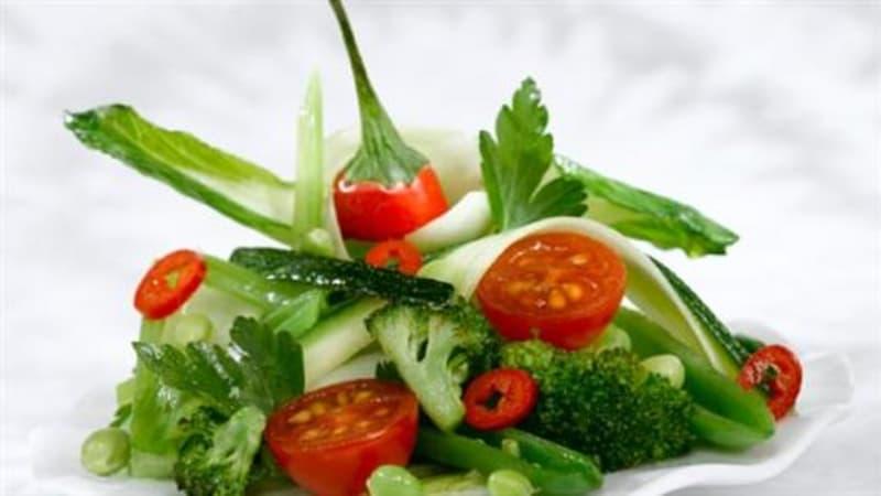 Grønn wok