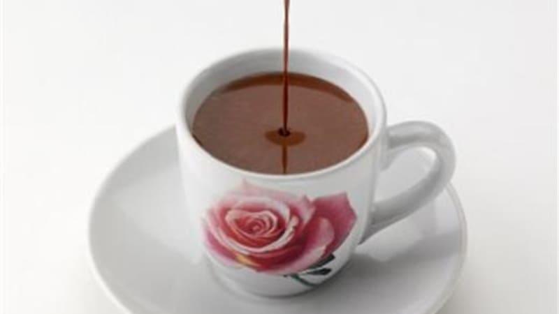 Fløyelsmyk sjokolade