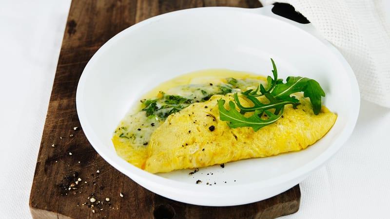Klassisk omelett