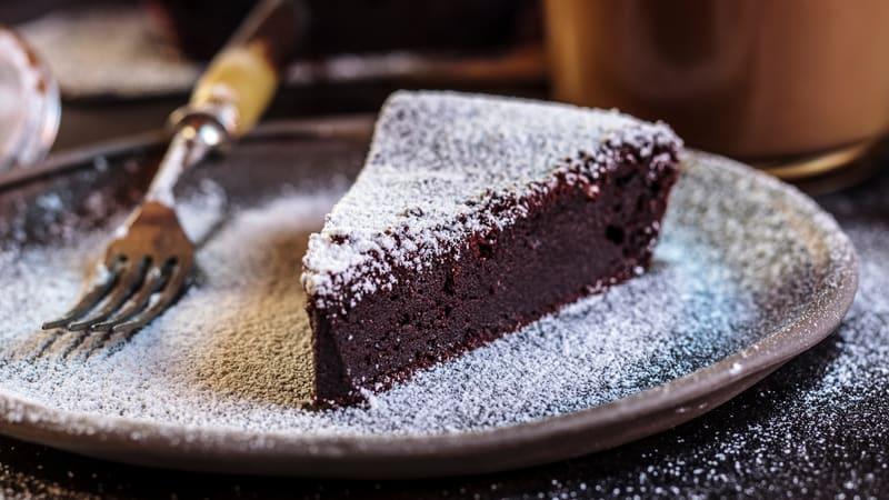 Saftig sjokoladekake uten hvetemel