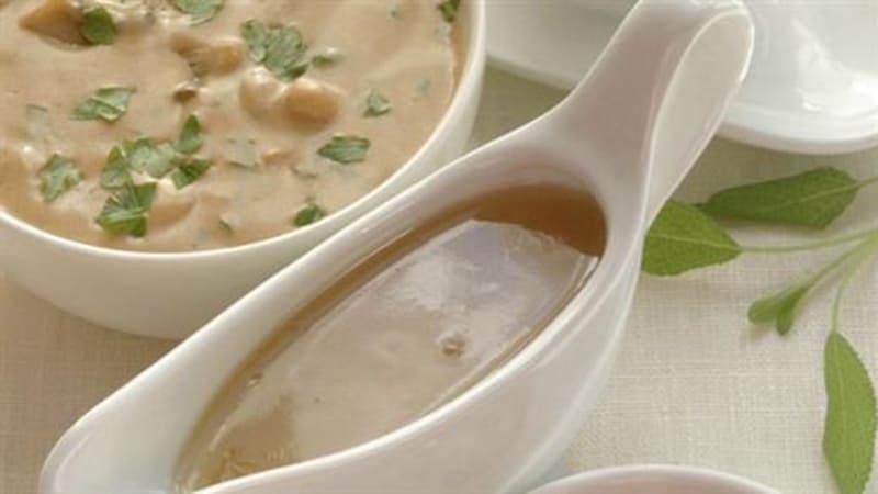 Sopp- og fløtesaus
