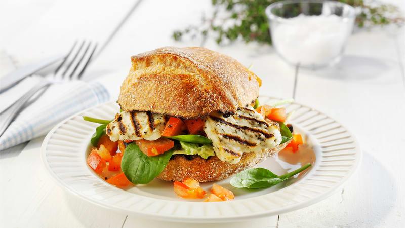 Grillost sandwich