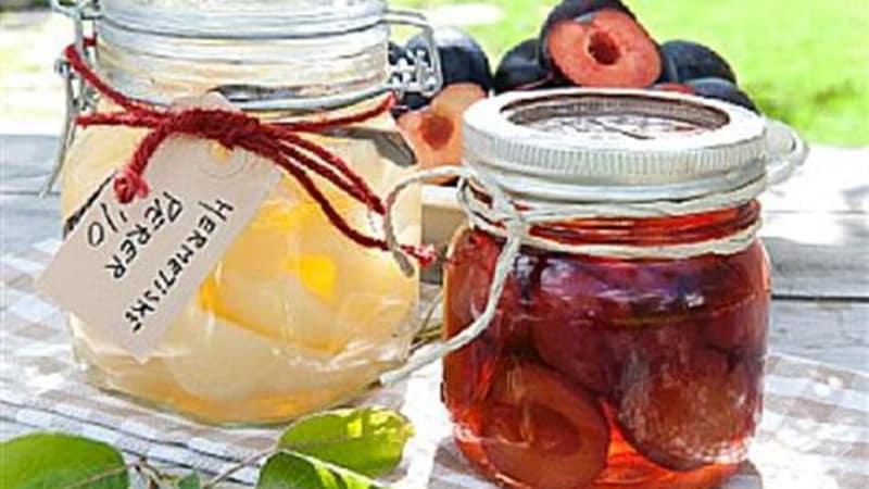 Hermetisert frukt