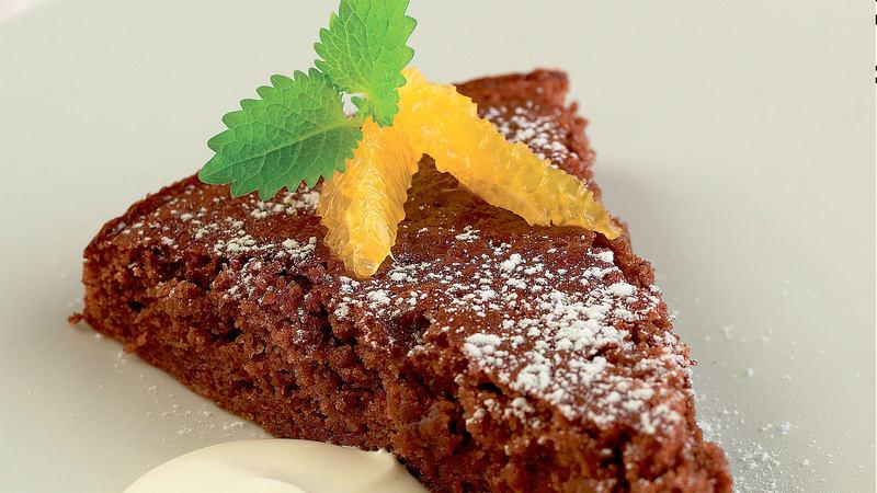 Klissete sjokoladekake