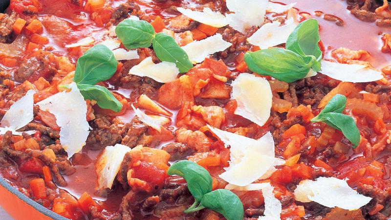 Spaghetti bolognese på 1-2-3
