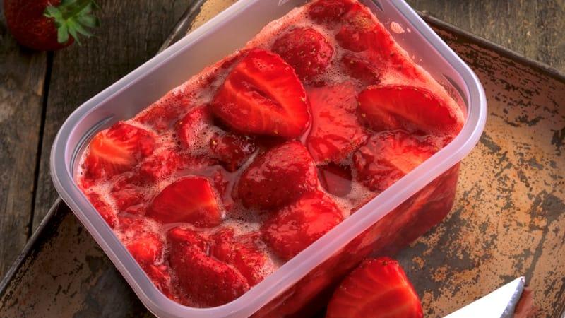 Hjemmelaget jordbærsyltetøy