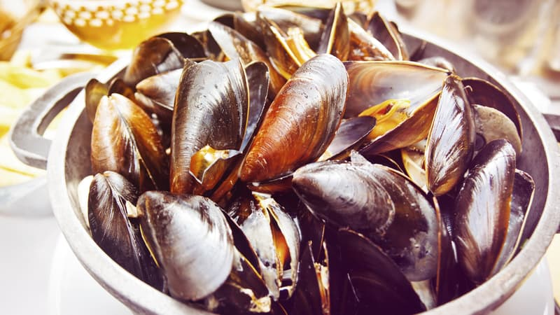 Craft beer mussels