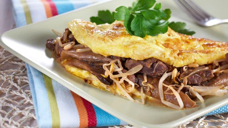 Asiatisk omelett