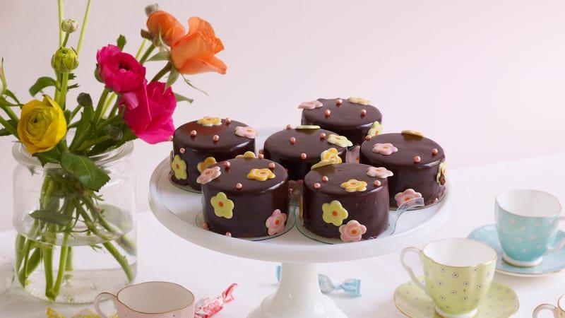 Sjokolademoussekaker