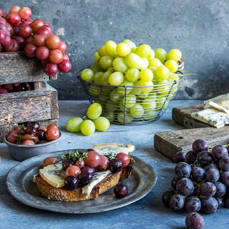 Søte og friske druer