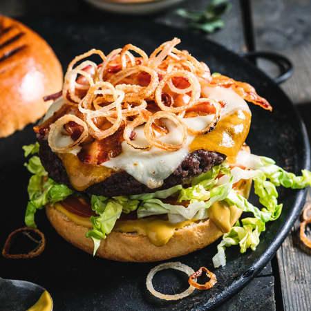 Smaksrike hamburgere