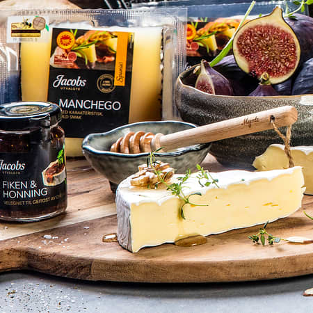 Smak på ost fra hele verden