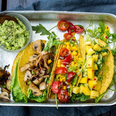 Kjøttfri taco full av smak