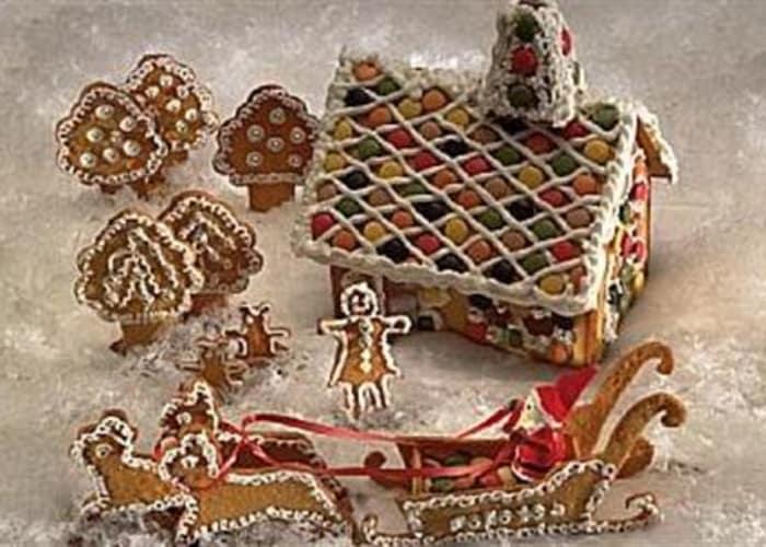 Ingrids pepperkakeoppskrift til figurer og hus