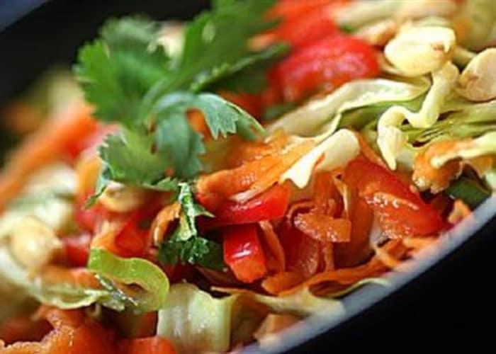 Asiatisk coleslaw