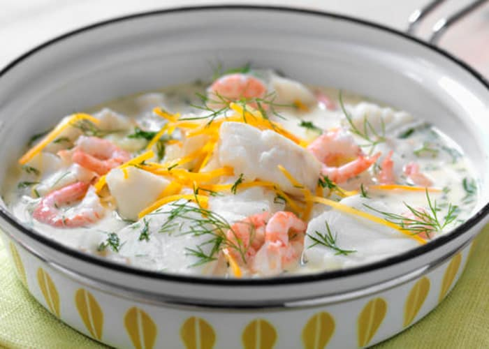 Fiskesuppe fra Lofoten