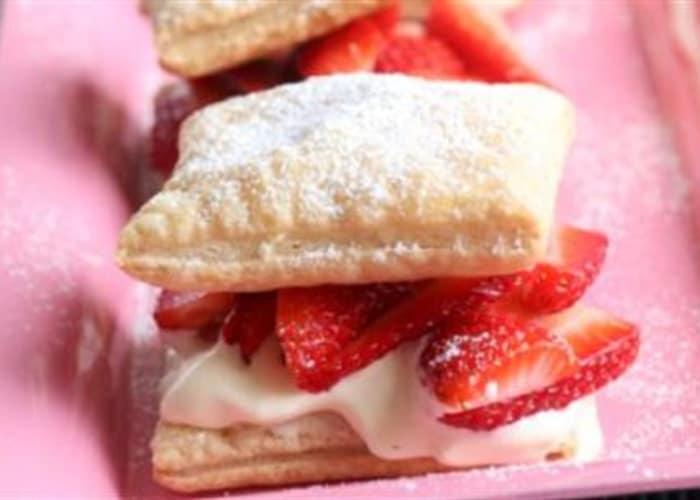 Jordbær a la Napoleon