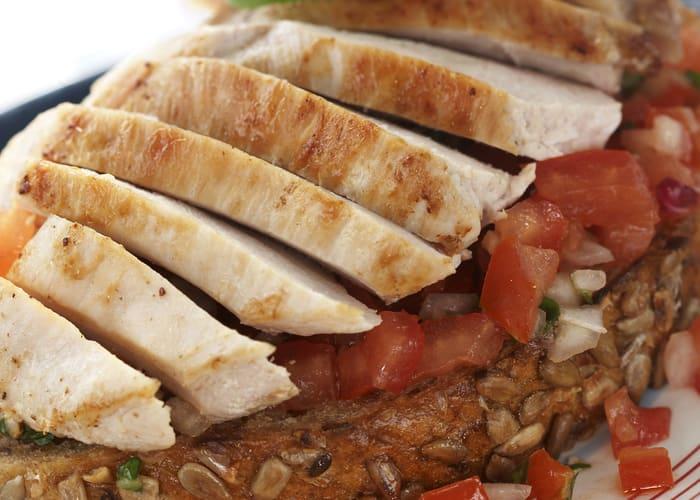 Bruschetta med kylling