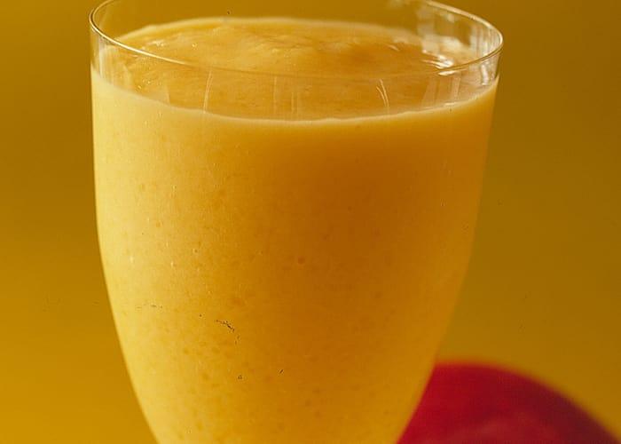 Mango- og melonslush
