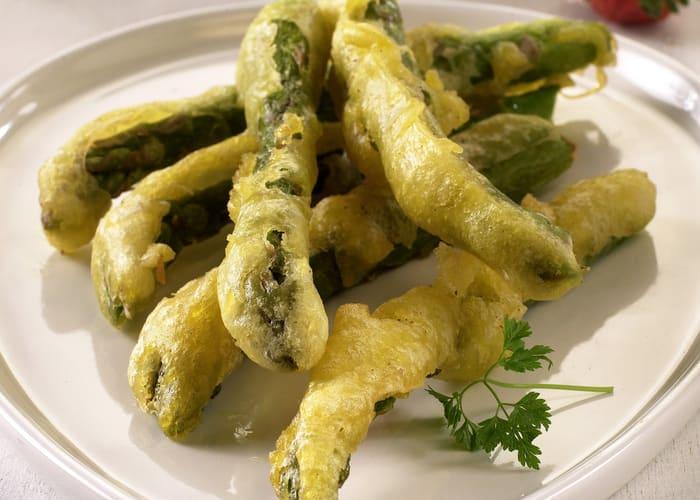 Asparges tempura