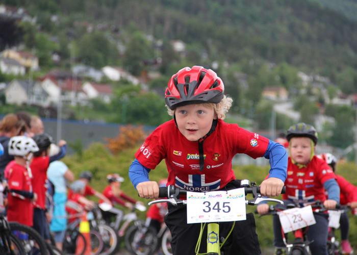 Tour of Norway for kids er på farten i hele sommer