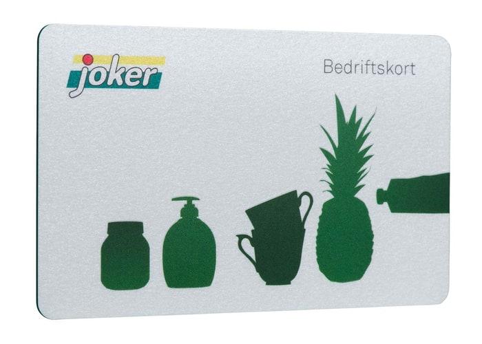 Søk om Joker Bedriftskort