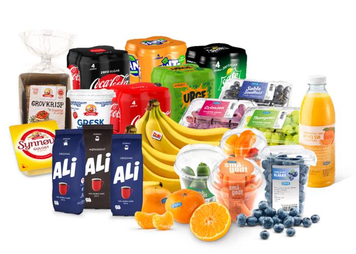 I samarbeid med Coca-Cola, ALI kaffe, Synnøve og Cevita