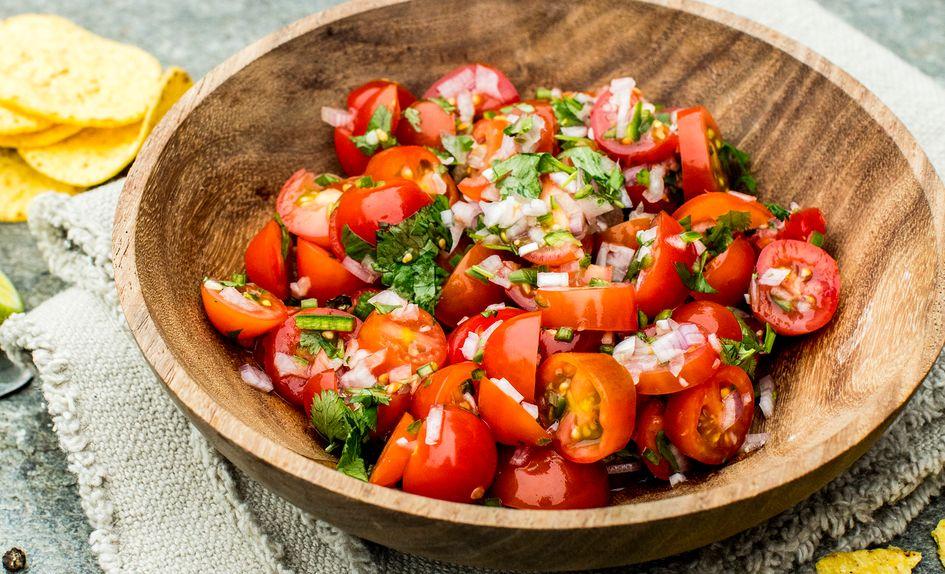 Enkel, hjemmelaget salsa fresca