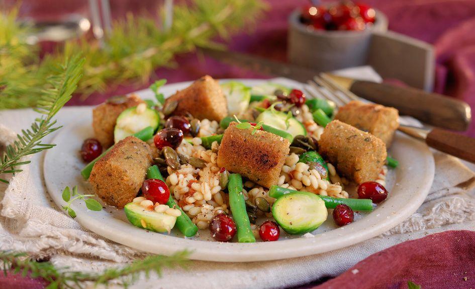 Falaffel med julens grønnsaker