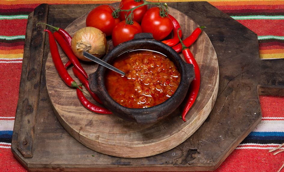Salsa tres chiles