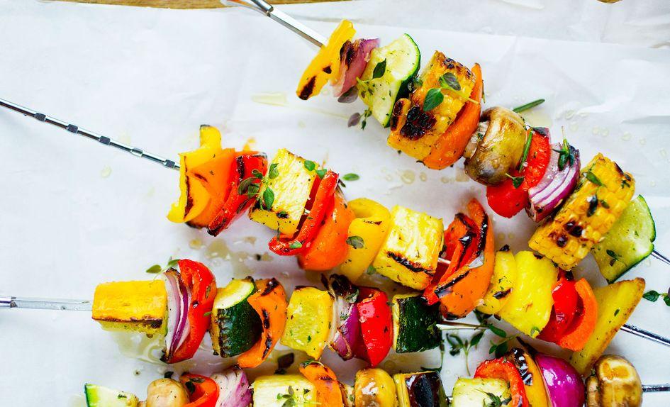 Grønnsaksspyd