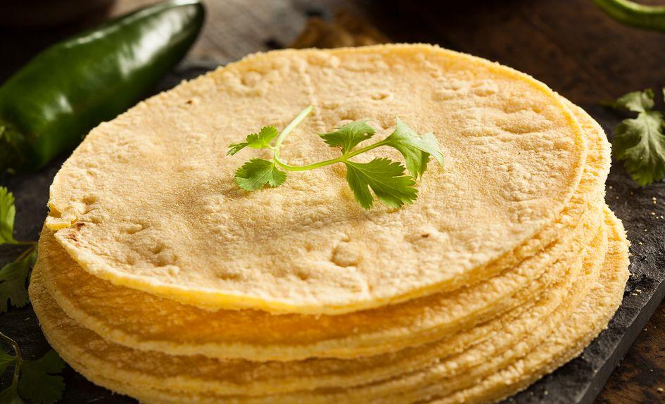 Hjemmelaget glutenfri tortillalefse