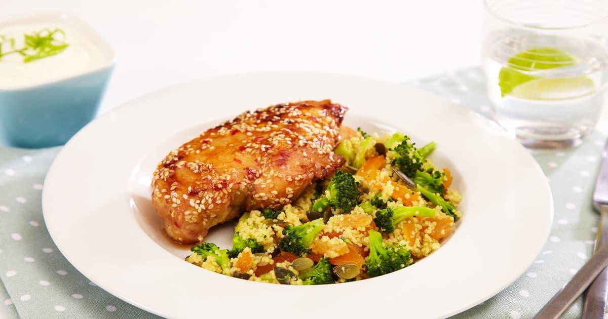 couscous kylling