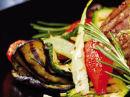 Jacobs Utvalgte entrecôte med grillet grønnsakssalat