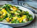 Lun squash- og spinatsalat