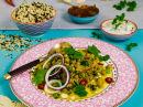 Indisk curry med kikerter og spinat