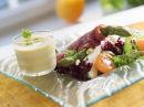 Spekeskinke med asparges og melon