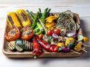 Grønnsaker på grillen